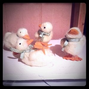 Duckling Easter Decorations Photo Props